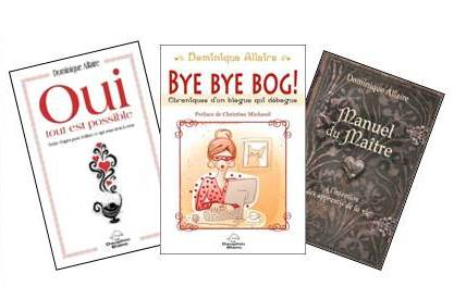 Trois livres de Dominique Allaire♥