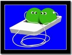 Deux petits pois dans un iPod