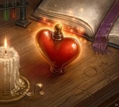 Amour potion magique
