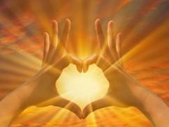 Lumineux coeur conscient