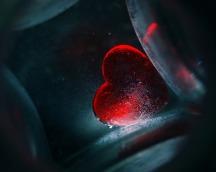 La boite noire coeur rouge
