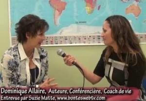 Dominique Allaire et Suzie Matte WEBTV