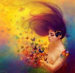 Papillons imagination